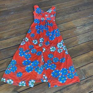 Vintage 70's maxi dress by LEN VOGUE size 6